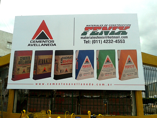 Cartelería y Banners Lona Impresa Materiales Fénix